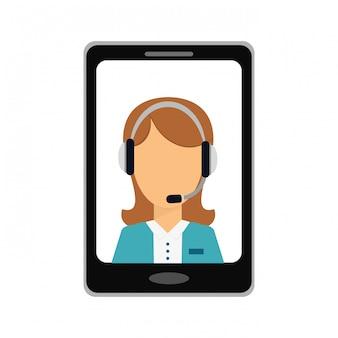 Teléfono inteligente servicios tecnicos icono de imagen
