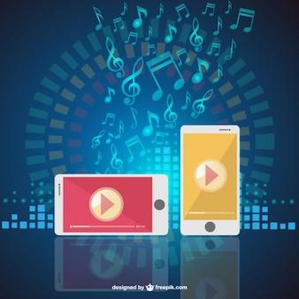 Teléfonos móviles y música