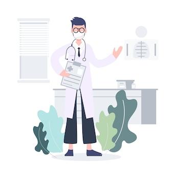 Telemedicina medicina en línea. concepto de consultor médico. brote de coronavirus pandemia. salud diseño plano personas abstractas.