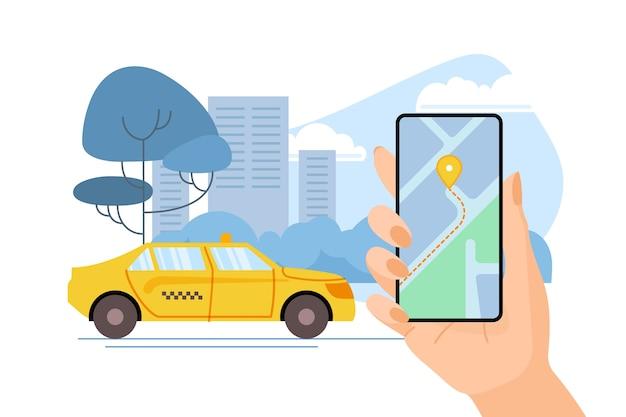 Tema de la aplicación de taxi