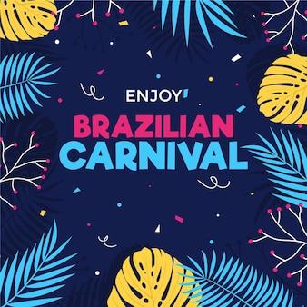 Tema del carnaval brasileño