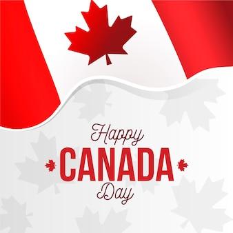 Tema de celebración del día de canadá