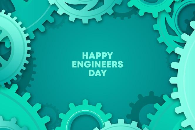 Tema de celebración del día de ingenieros