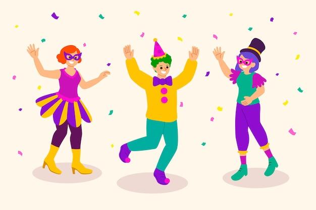 Tema de la colección de bailarines de carnaval