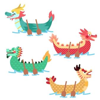 Tema de la colección del bote del dragón