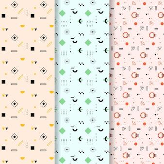 Tema de colección de patrones geométricos mínimos