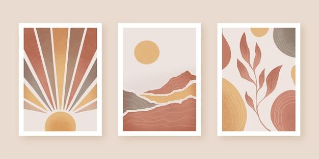 Tema de cubiertas abstractas