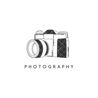 Tema de la cámara de fotografía