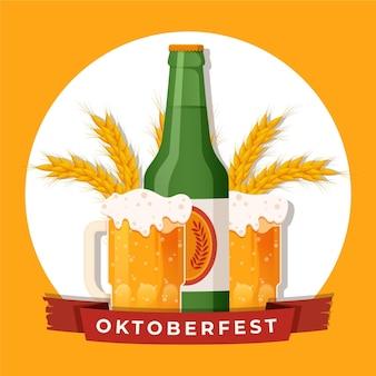 Tema del evento oktoberfest