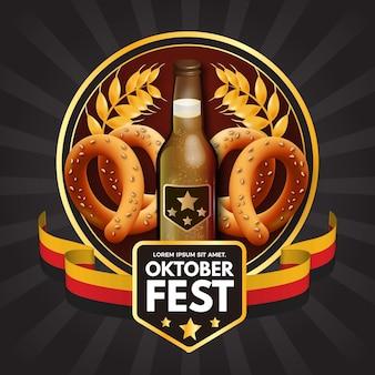 Tema festivo de oktoberfest