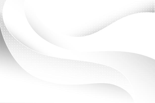 Tema de fondo abstracto blanco