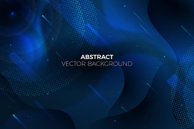 Tema de fondo azul clásico abstracto