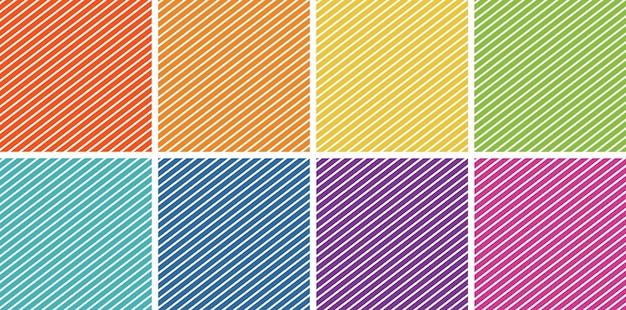 Tema de fondo en diferentes colores.