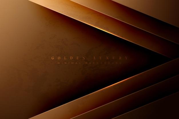 Tema de fondo de lujo oro