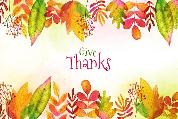 Tema de fondo de pantalla del día de acción de gracias