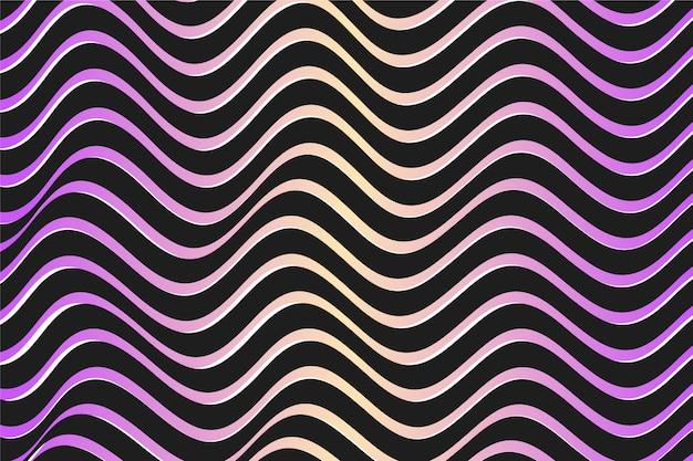 Tema de fondo de pantalla de ilusión óptica psicodélica