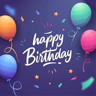 Tema de letras feliz cumpleaños