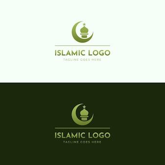 Tema del logo islámico