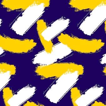 Tema de patrón de trazo de pincel