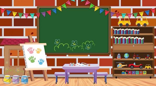 Tema de regreso a la escuela con muchos artículos escolares