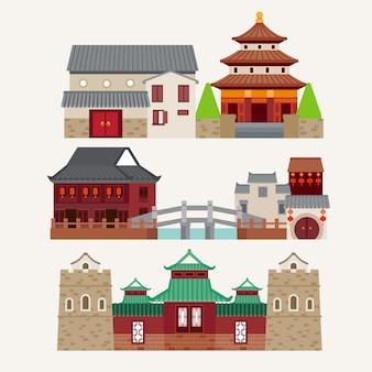 Templo de la ciudad de china
