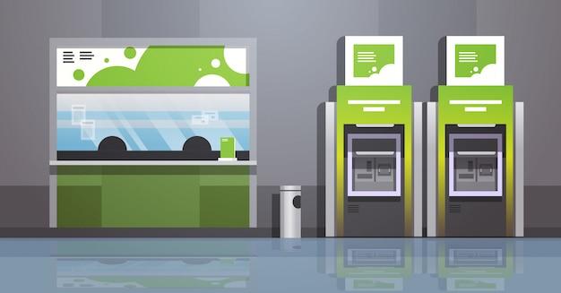 Terminal de pago de cajero automático