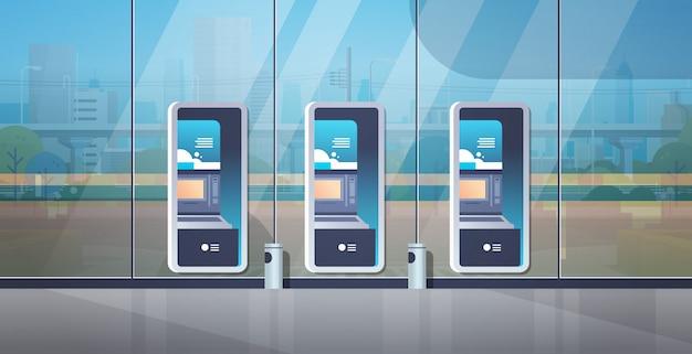 Terminal de pago en cajero automático