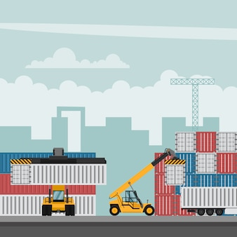 Terminal portuario de contenedores