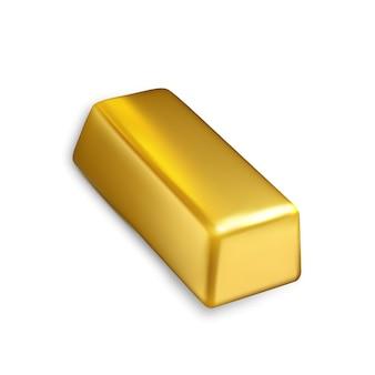 Tesoro de inversión financiera de barra de oro