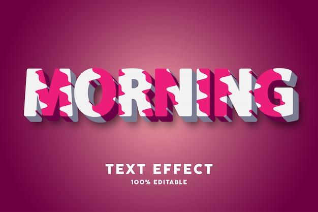 Texto en 3d se desvaneció pintura amarilla y azul, efecto de texto
