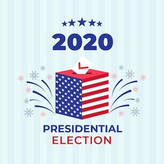 Texto de las elecciones presidenciales estadounidenses de 2020
