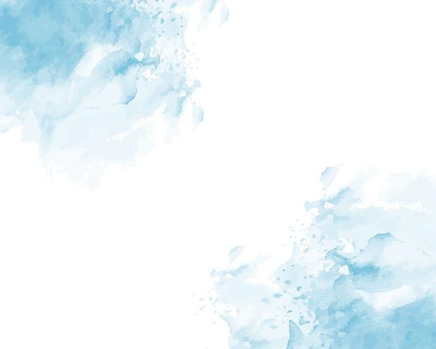 Textura abstracta acuarela suave azul.