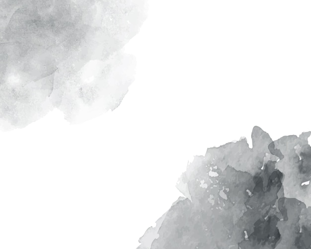 Textura abstracta acuarela suave gris.
