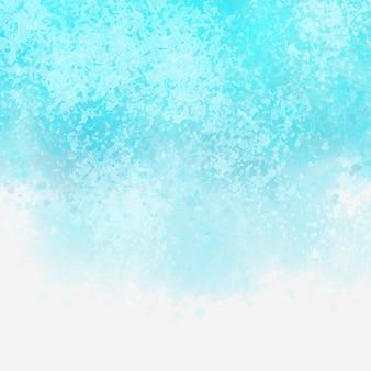 Textura de acuarela de color aqua detallada