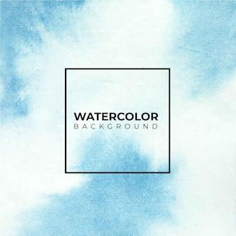Textura de acuarela pintada a mano de colores brillantes sobre fondo blanco.