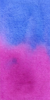 Textura de fondo acuarela de banner azul y magenta