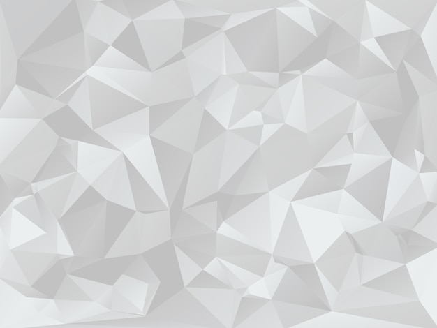 Textura de fondo geométrico gris baja poli