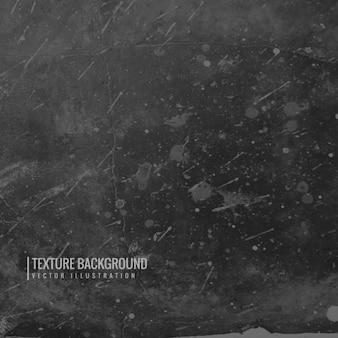 Textura grunge negra