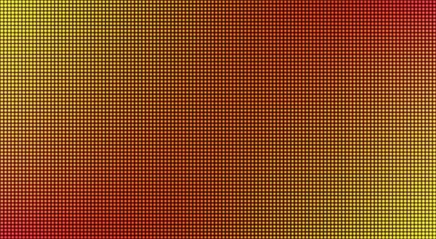 Textura led. display digital con puntos.