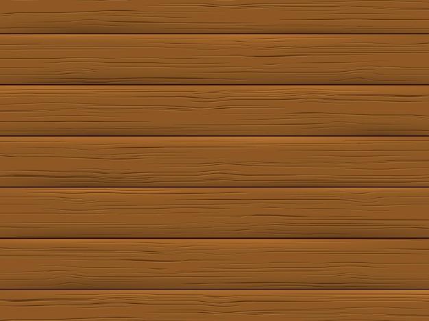 Textura de madera, tablón marrón. fondo de madera en estilo de dibujos animados.