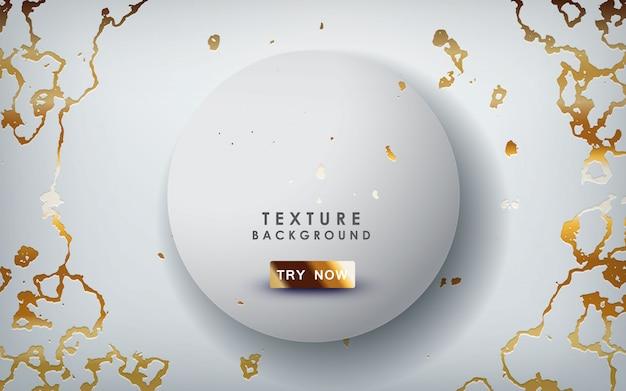 Textura de mármol dorado
