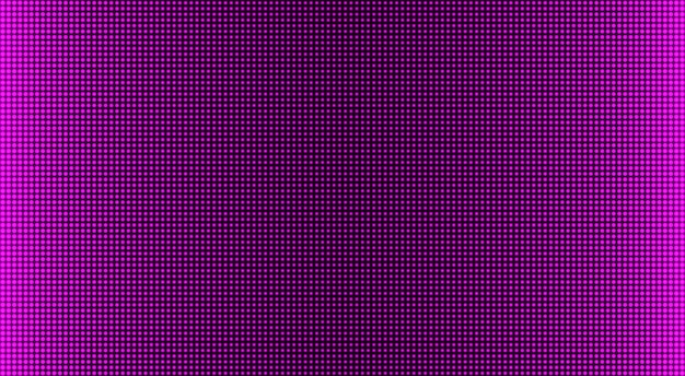 Textura de pantalla led. pantalla digital. fondo de píxeles de color. monitor lcd. efecto de diodo electrónico