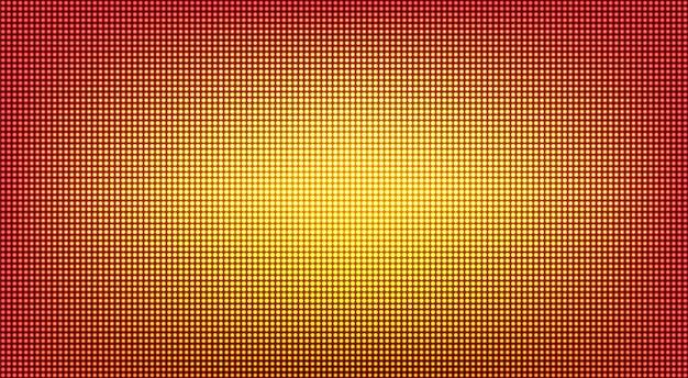 Textura de pantalla led. pantalla digital lcd. ilustración vectorial.