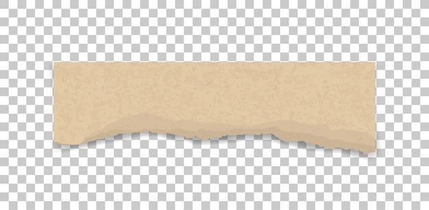 Textura de papel rasgado. fondo de bordes de papel rasgado.