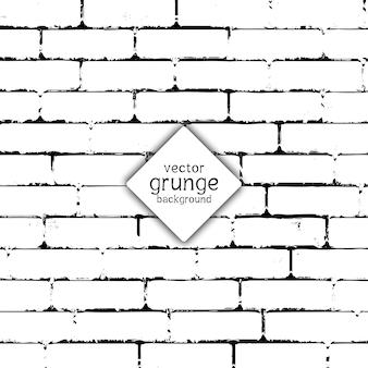 Textura de pared de ladrillo de estilo grunge