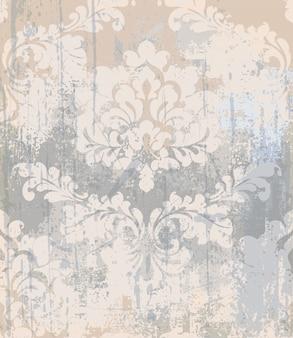 Textura de patrón rococó