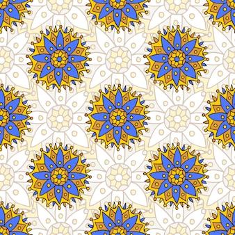 Textura de patrones sin fisuras de la india. puede ser utilizado para la tela de moda, textil, envoltura