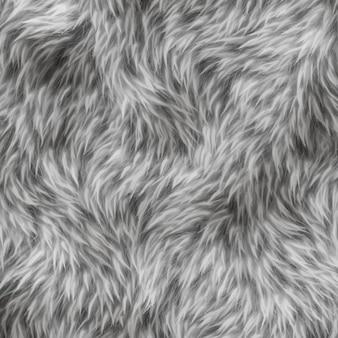 Textura de pelo gris de animal