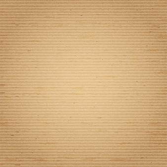 Textura realista vector de fondo de cartón