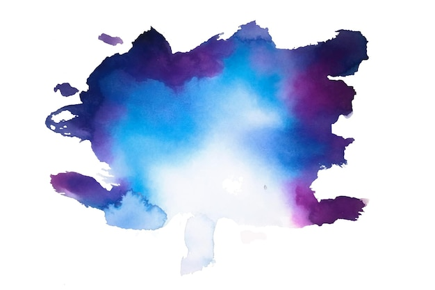 Textura de salpicaduras de mancha de acuarela abstracta